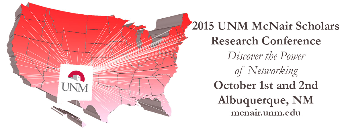 UNM McNair 2015 Conference